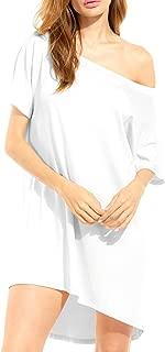 Womens Flannel Plaid Shirts Roll Up Button Down Long Sleeve Mid-Long Casual Boyfriend Shirts