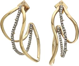Orbit Wavy Hoop Earrings