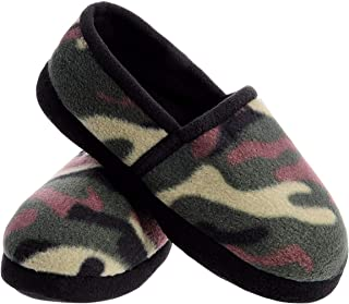 Image of Comfortable Memory Foam Camo Slippers for Boys and Toddlers