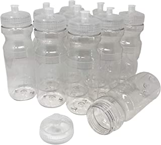 clear water bottles in bulk