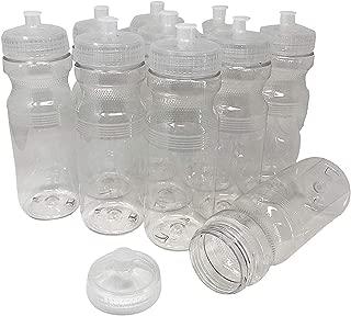 clear water bottles in bulk