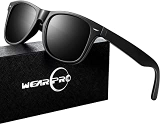 Sunglasses for Men- wearpro Retro Vintage Polarized Mens...