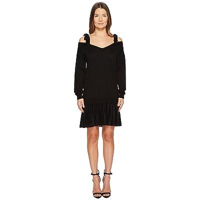 Boutique Moschino Shoulder Tie Dress (Black) Women