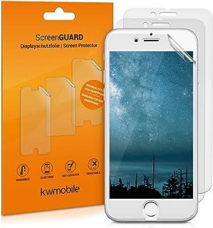 kwmobile 3x pellicola protettiva per display OPACA e ANTIRIFLESSO effetto anti-impronte compatibile con Apple iPhone 6 / 6...