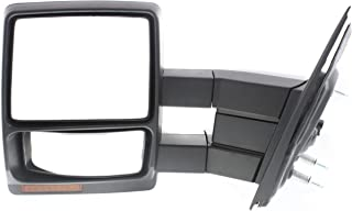 Tow Mirror For 2007 2014 Ford F-150 Driver Side Power Heated Signal Puddle Light