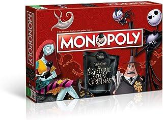 Monopoly Nightmare Before Christmas – Das berühmte Spiel um den großen Deal!
