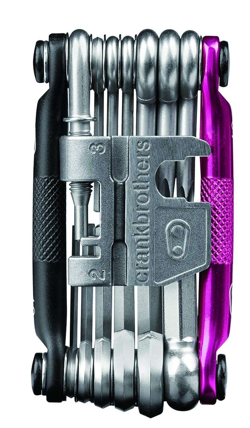 分類する理容室血crankbrothers(クランクブラザーズ) 自転車工具セット 多機能 メンテナンス 修理ツール 携帯工具 マルチ-19