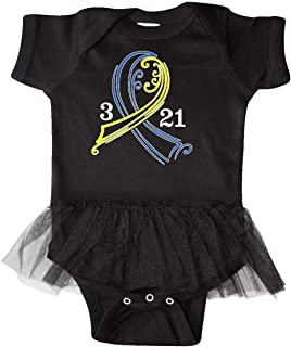 Down Syndrome Ribbon 3 21 Infant Tutu Bodysuit