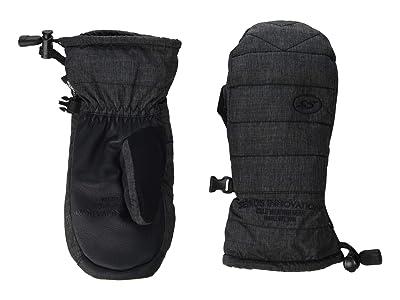 Seirus Puff Pal Mitt (Big Kids) (Black) Extreme Cold Weather Gloves