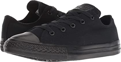 Converse Chuck Taylor All Star Low Top Sneaker Black Monochrome 9.5 Women/7.5 Men