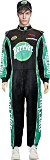 Jean Girard W/Cap NASCAR Jumpsuit Costume Talladega Nights Perrier