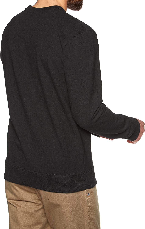 Patagonia M's P-6 Label Uprisal Crew Sweatshirt Homme Noir