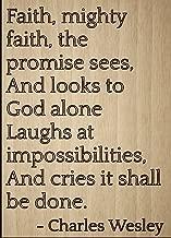 Best faith mighty faith the promise sees Reviews