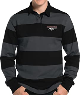 Mens Ford Running Pony Rugby Polo Shirt