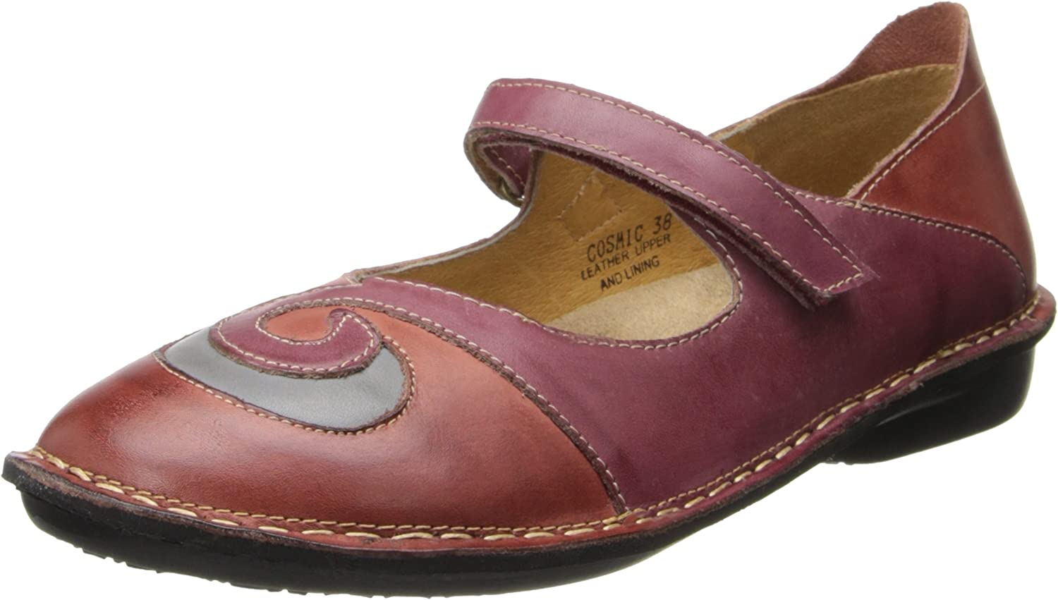 Spring Step Womens Cosmic Mary Jane Flat