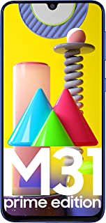 Samsung Galaxy M31 Prime Edition (Ocean Blue, 6GB RAM, 128GB Storage) - Get Flat Rs 2,500 Instant Discount with select ban...