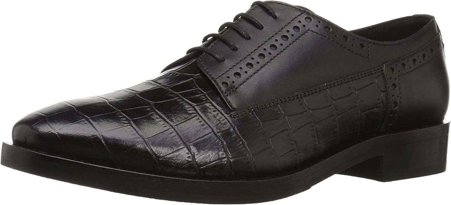 Geox Womens Brogue 11 Croc Embossed Dress shoes Oxford