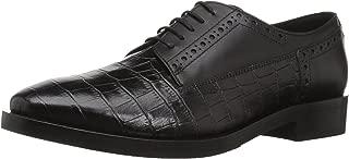 GEOX Womens Brogue 11 Croc Embossed Dress Shoe