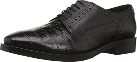 Geox Women's Brogue 11 Croc Embossed Dress Shoe Oxford