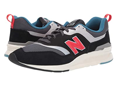 New Balance Classics 997Hv1-USA (Magnet/Energy Red) Men