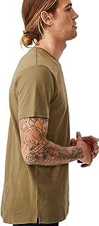 Cotton On Men's Essential Longline Curved Hem T-Shirt