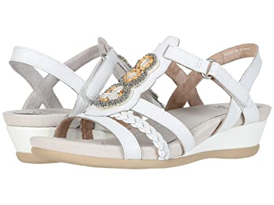 Earth Falmouth (White Leather) Women