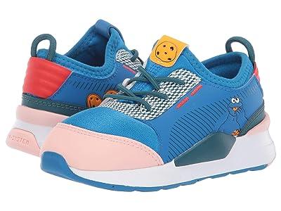 Puma Kids Sesame STR 50 RS-0 Slip-On (Toddler) (Veiled Rose/Indigo Bunting/Blue Coral) Kids Shoes