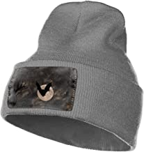 SHUIZHIQING Halloween Skeleton Driver Knitted Cap Trendy Warm Chunky Soft Stretch Cable Knit Slouchy Beanie Hat