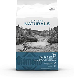 Diamond Naturals Skin & Coat Real Salmon and Potato Recipe Dry Dog Food with Protein, Superfoods, Probiotics and Essential...