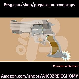 3D Printed McCree Revolver Prop Kit