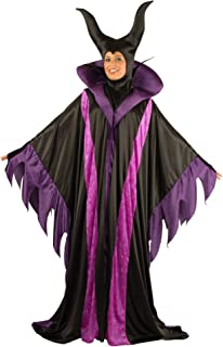 Women's Magnificent Witch Costume Gown and Headpiece