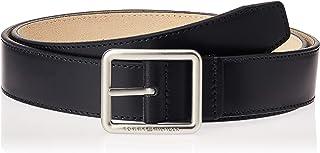 حزام رجالي من الجلد قابل للعكس وسط المدينة 3.5، متعدد الألوان (كحلي / سفاري 901) من تومي هيلفيغر.