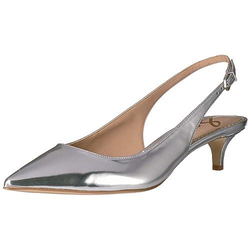 17973bad3b6 Silver Slingback Shoes  Amazon.com
