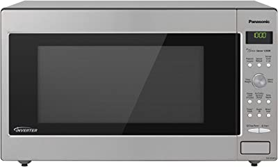 Panasonic Microwave Oven NN-SD945S Stainless Steel Countertop/Built-In with Inverter Technology and Genius Sensor, 2.2 Cubic Foot, 1250W