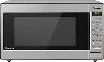 Panasonic Microwave Oven NN-SD945S Stainless Steel Countertop/Built-In with Inverter Technology and Genius Sensor, 2.2 Cu. Ft, 1250W