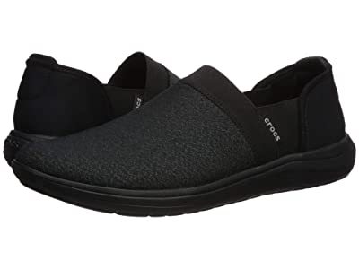 Crocs Reviva Slip-On (Black/Black) Women