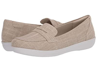 Clarks Ayla Form (Natural Linen) Women