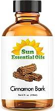 Cinnamon Bark Essential Oil (Huge 4oz Bottle) Bulk Cinnamon Bark Oil - 4 Ounce