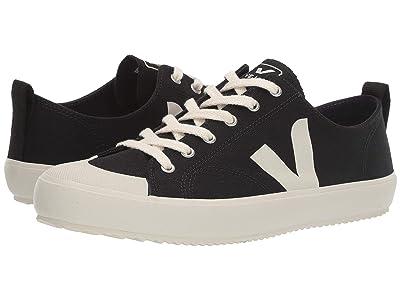 VEJA Nova (Black/Pierre Canvas) Shoes
