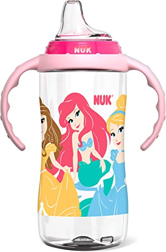 NUK Disney Learner Cup, 10 Oz, Princess, 8+ Months