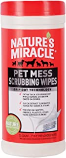 Nature's Miracle Pet Mess Scrubbing Wipes