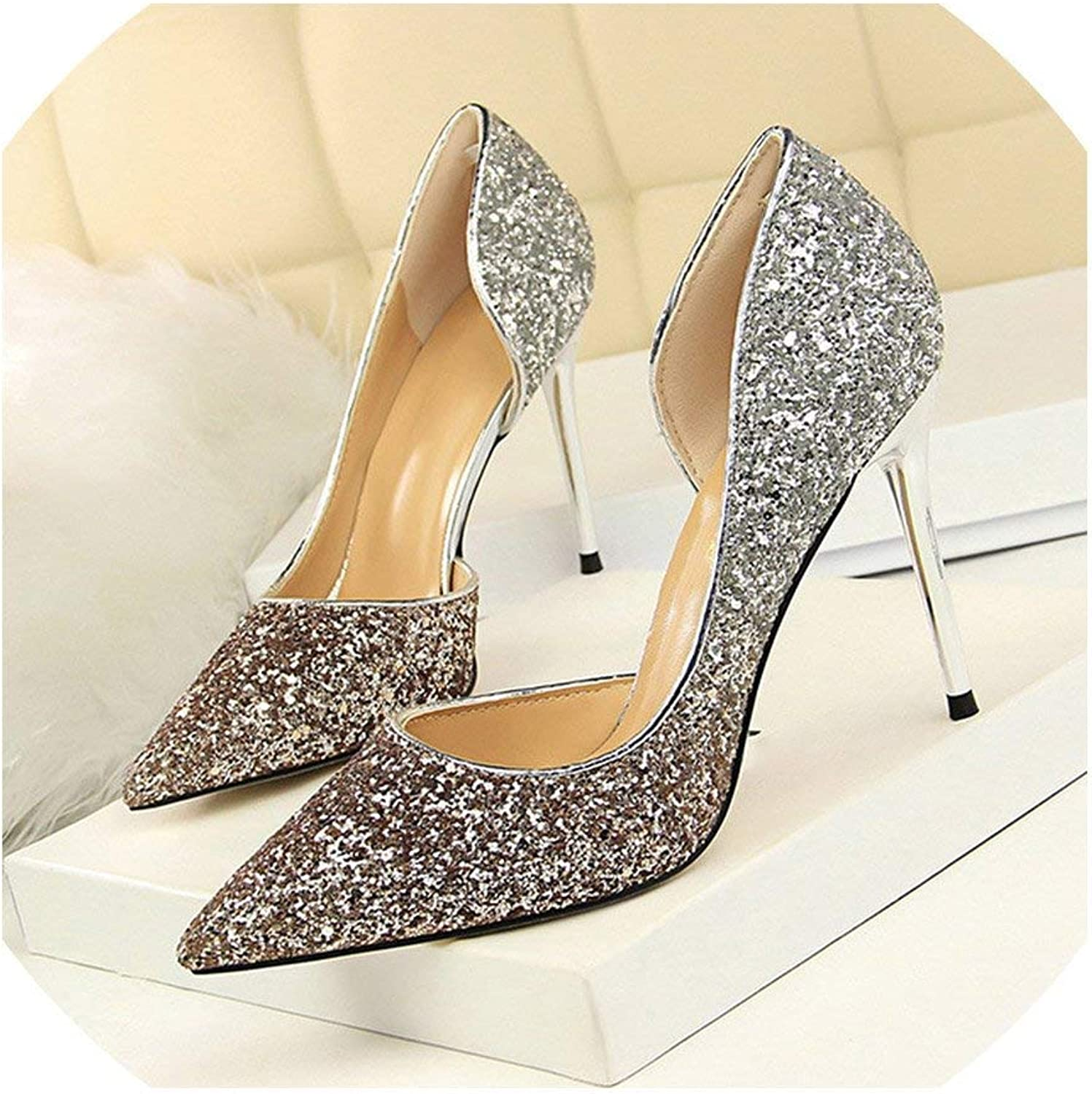 High Heels Women shoes Thin Heels Female shoes Wedding shoes