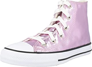 Converse Chuck Taylor all Star Hi Digital Powder Lilla/Nero (Lilac/Black) Tessuto 38 EU