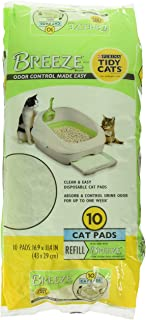Purina Tidy Cats Breeze Spring Clean Cat Pads Refill Pack 10 CT 15837
