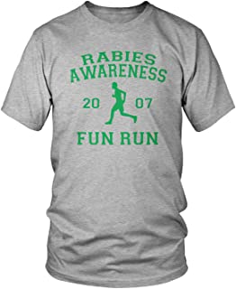 Amdesco Men's The Office Rabies Awareness Fun Run 2007 T-Shirt