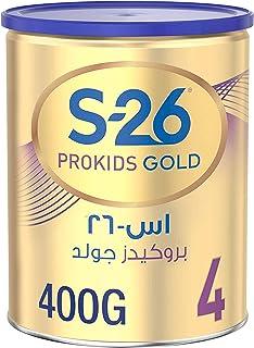 Nestle S26 Prokids Gold Premium Milk Powder for Kids Tin, Stage 4, 3-6 Years, 400g