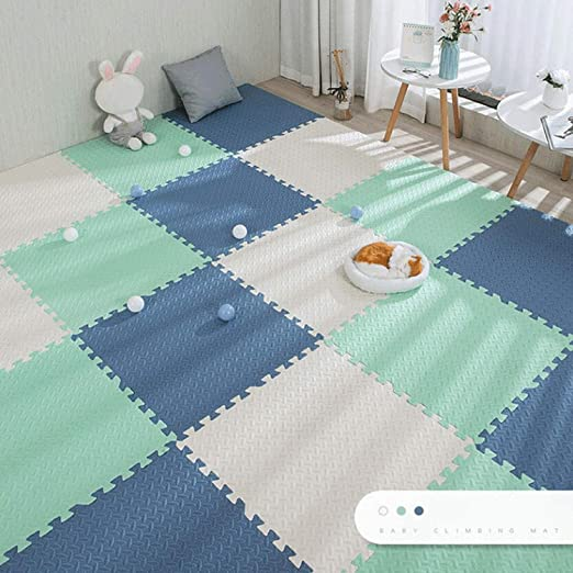 Baby Puzzle Mats for Kids Play Rug Interlocking Exercise Tile Rugs Floor Tile Toy Carpet Soft Carpet Climbing EVA Foam Pad: Amazon.de: Baby Products