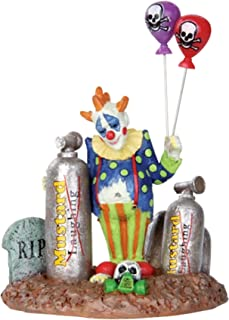 1 X Lemax 32103 Balloon Clown Spooky Town Figure Halloween Decor Figurine