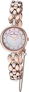 Christian Van Sant Women's Perla Quartz Stainless-Steel Strap, Rose Gold, 10 Casual Watch (Model: CV0613)