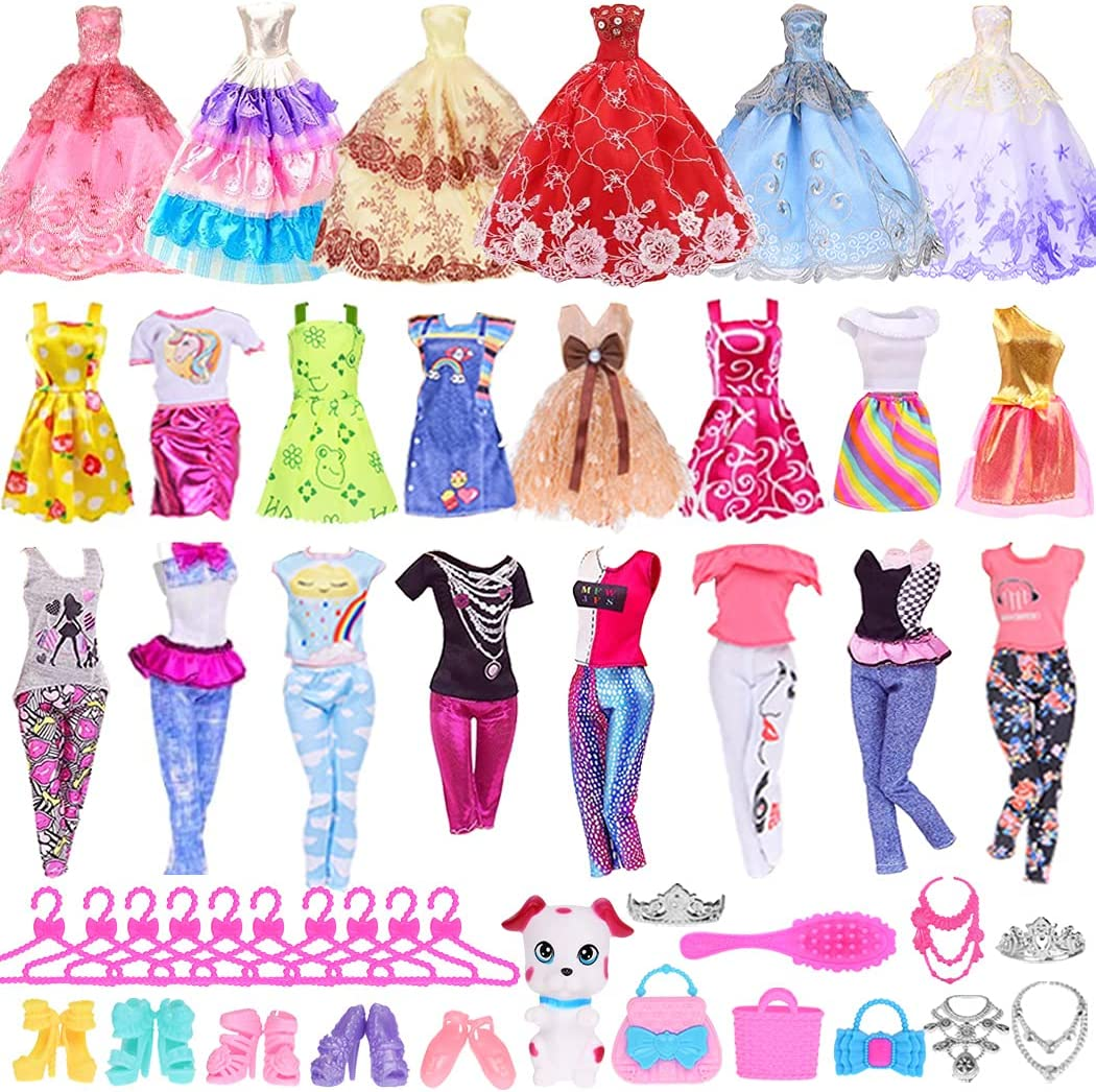 Portland Mall iBayda 40 PCS Doll Clothes and Accessories Ranking TOP13 4 Including G Wedding
